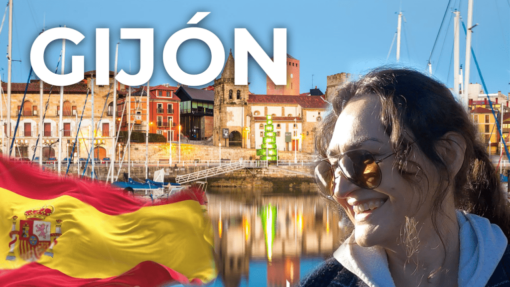 Gijon ❤️ North Coast of Spain   Asturias Travel Vlog