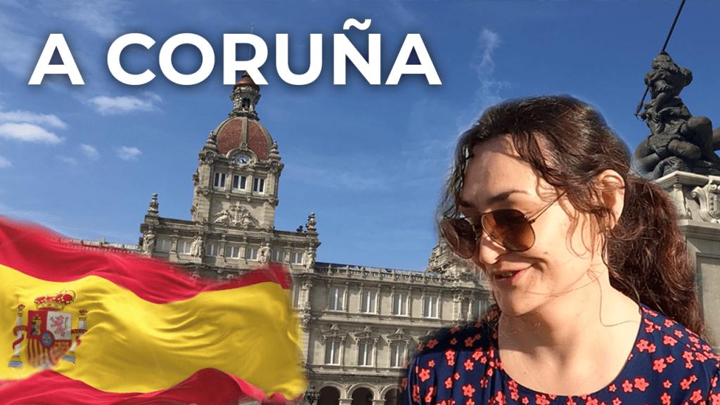 A Coruna ❤️ North Coast of Spain   Spain Travel Vlog [4K]