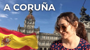 A Coruna ❤️ North Coast of Spain | Spain Travel Vlog [4K]