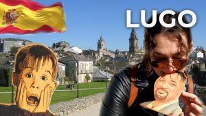 Walking tour Lugo ❤️ North of Spain | Spain Travel Vlog [4K]