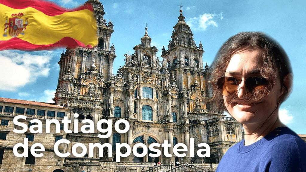 Santiago de Compostela ❤️ North of Spain   Spain Travel Vlog [4K]
