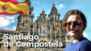 Santiago de Compostela ❤️ North of Spain | Spain Travel Vlog [4K]