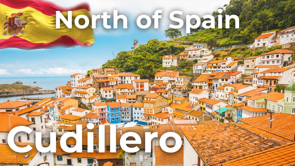 Walking tour Cudillero   North of Spain [4K]