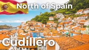 Walking tour Cudillero | North of Spain [4K]