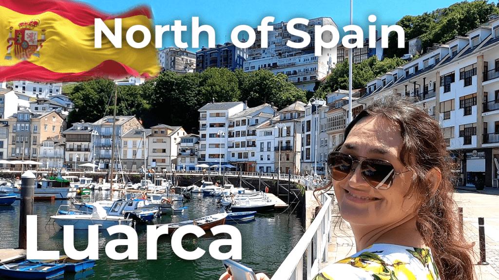 Walking tour Luarca   North of Spain [4K]